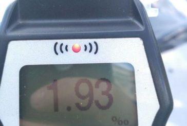 Тернопільські патрульні зафіксували в 10 разів вищу норму алкоголю у водія таксі