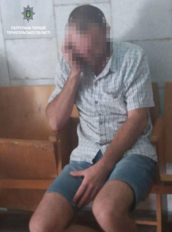 Оковита «підвела»: попався тернополянин, якого розшукували за несплату аліментів та дебош (ФОТО)
