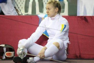 Тернополянка Олена Кривицька стала п'ятою на чемпіонаті світу з фехтування