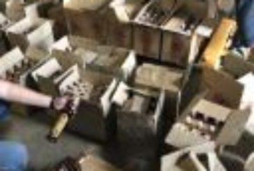 У Тернополі підпільно виготовляли елітний алкоголь: вилучено продукції на 4,3 млн грн (ФОТО)