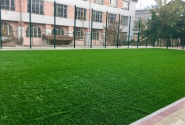 У Тернополі на території школи №5 облаштували сучасний спортивний майданчик (ФОТО)