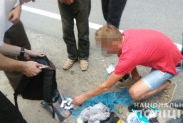 У Тернополі затримали таксиста, який торгував канабісом (ФОТО)