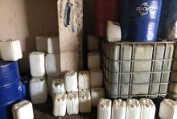 У селі на Тернопільщині підпільно торгували дизпаливом (ФОТО)