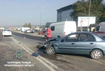 ДТП по вулиці С. Будного: двоє травмованих осіб та чотири пошкоджені автомобілі (ФОТО)