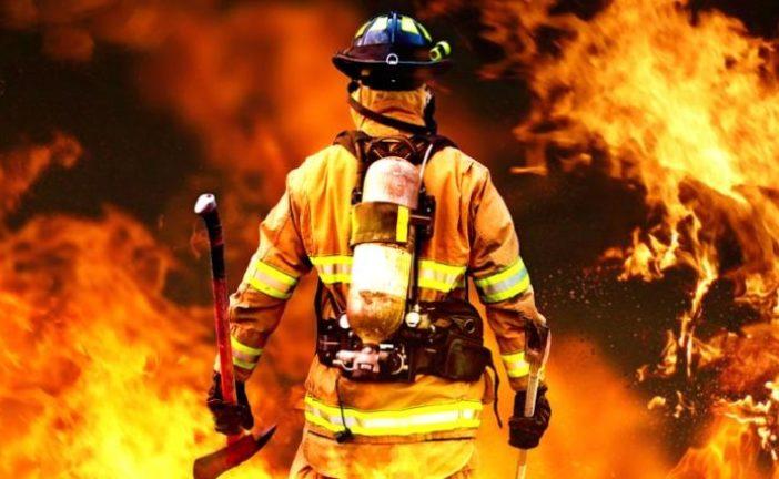 Тернопільські правоохоронці встановлюють причину масштабної пожежі в складських приміщеннях