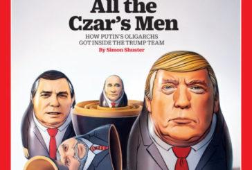 """""""Маленька матрьошка Трампа"""": Путіна знову висміяли на обкладинці TIME"""