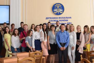 Студентам юрфаку ТНЕУ провели практичне заняття у податковій Тернопільщини (ФОТО)