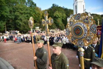 Військовослужбовці з усієї України взяли участь у паломництві до духовної святині Тернопільщини – Зарваниці (ФОТО)