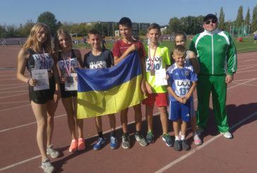 Юні зборівські легкоатлети привезли з міжнародних змагань із Польщі «срібло» та «бронзу» (ФОТО)