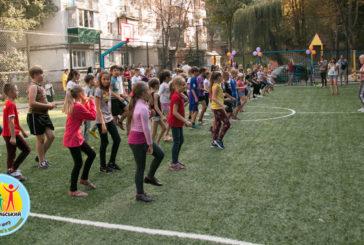 На масиві «Східний» у Тернополі відкрили ще один дитячий спортмайданчик (ФОТО)