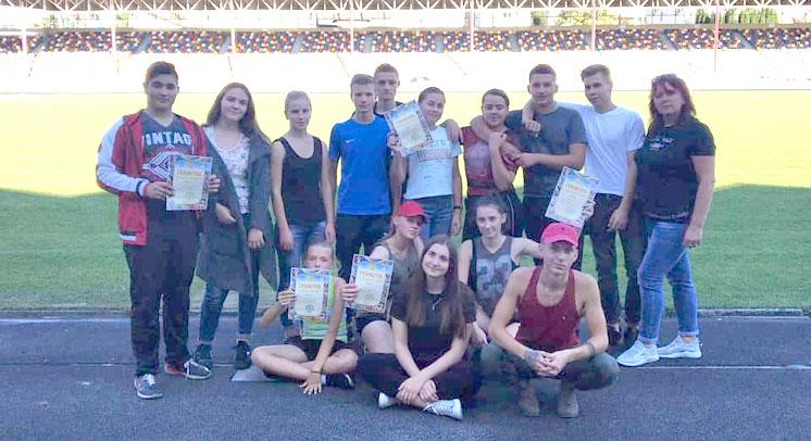 Легкоатлети Шумщини – серед переможців чемпіонату області (ФОТО)