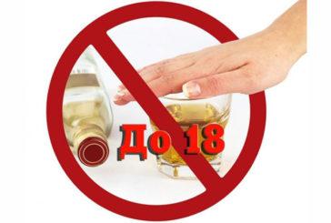 Податківці застерігають підприємців Тернопільщини: за продаж алкоголю неповнолітнім – позбавлять ліцензії