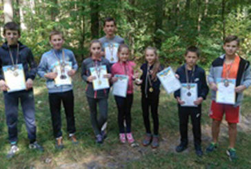 Юні легкоатлети зі Зборівщини посіли призові місця у першості з легкоатлетичного кросу на Львівщині