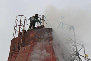 На Зборівщині зайнялася зерносушарка, згоріло 1,5 тонн насіння соняшника (ФОТО)