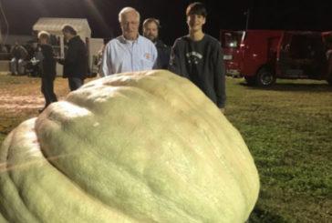 Гарбуз вагою більше тонни виростили у США