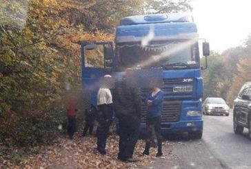 На Тернопільщині патрульні зупинили п'яного водія багатотонної вантажівки (ФОТО)
