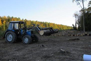 Лісівники з Чортківщини похизувалися новою технікою (ВІДЕО)