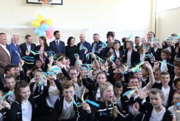 До Тернополя на відкриття першої в Україні соціально-спортивної школи Фонду «Реал Мадрид» завітав відомий іспанський футболіст Альваро Арбелоа (ФОТО)