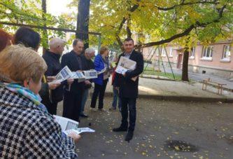 Віктор Забігайло, голова Тернопільської обласної організації політичної партії «Основа»: «Голос народу»