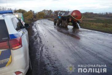 На Кременеччині не розминулися автомобіль з велосипедистом