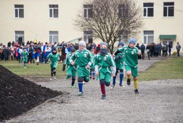 У Коцюбинцях на Тернопільщині відкрили новий футбольний майданчик зі штучним покриттям (ФОТО)