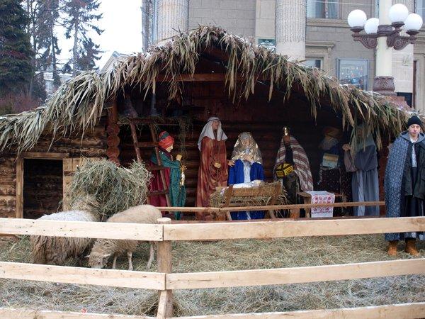Тернополян запрошують до участі в конкурсі на кращий макет різдвяної шопки