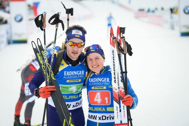 Тернополянка Анастасія Меркушина відкрила біатлонний сезон «бронзою»