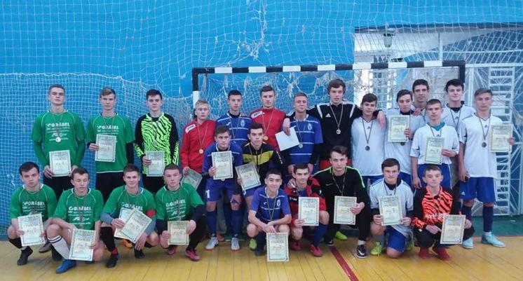 Переможцями ХХІІІ спортивних ігор школярів з футзалу стала команда з Тернополя