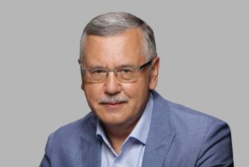 «Чесні у владі – сильна держава» Гриценко про плани на 2019