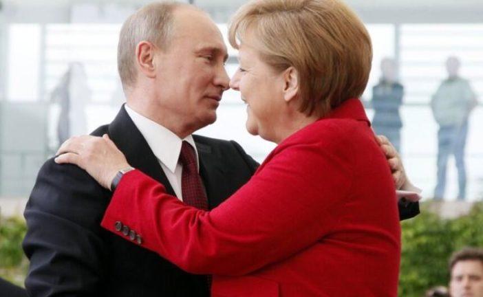 Меркель підтримала будівництво «Північного потоку-2»