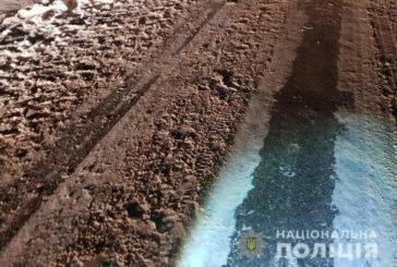 На Тернопільщині під колесами авто опинився чоловік