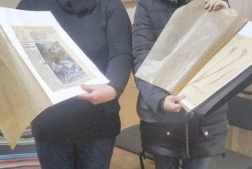 Студенти Кременецької академії досліджують у краєзнавчому музеї унікальну колекцію гербаріїв