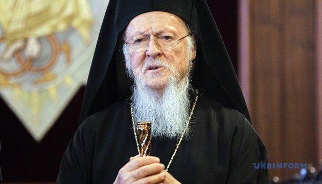 Варфоломій закликав православних патріархів визнати Українську церкву автокефальною