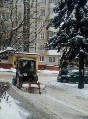 Фото з адресами вулиць, де не прибирають сніг, тернополяни можуть надсилати на Viber муніципальної інспекції