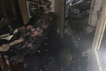 На Чортківщині під час гасіння пожежі врятовано черверо дорослих та дитину (ФОТО)