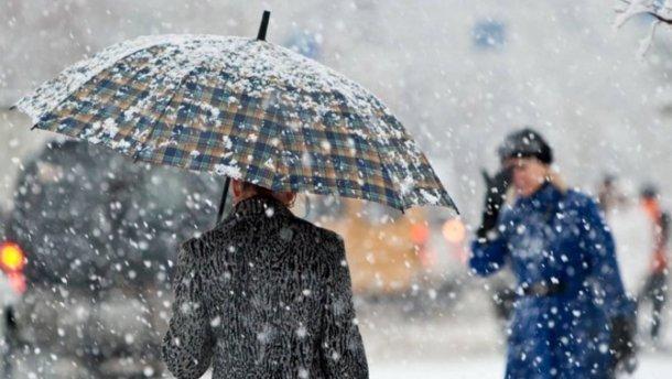 До України прийде похолодання, сильний вітер і мокрий сніг