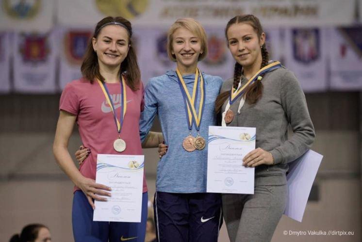 Юна легкоатлетка зі Зборівщини – срібна призерка Чемпіонату України (ФОТО)