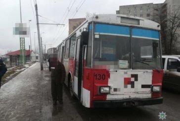 У Тернополі пасажирів перевозив п'яний водій тролейбуса (ФОТО)