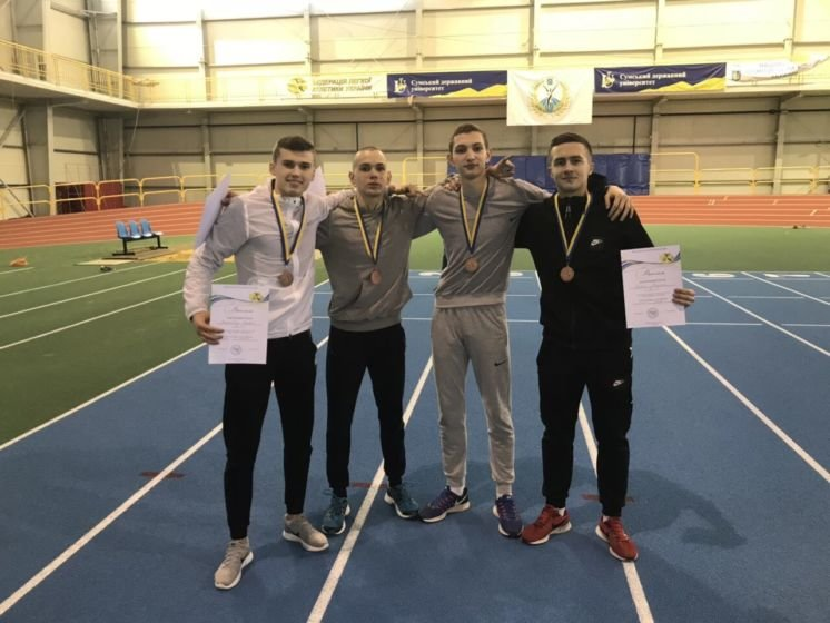 Студенти ТНЕУ – «бронзові» призери Чемпіонату України з легкої атлетики серед юніорів (ФОТО)