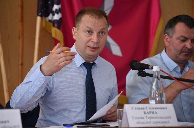 Голова Тернопільської ОДА Степан Барна: «Завдяки державним програмам є можливість підтримати малі фермерські об'єднання»