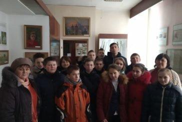 Урок про героїв Крут провели для школярів у Кременецькому краєзнавчому музеї (ФОТО)