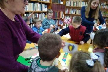 У Кременецькій міській бібліотеці для дітей – майстер-клас до Дня святого Валентина (ФОТО)