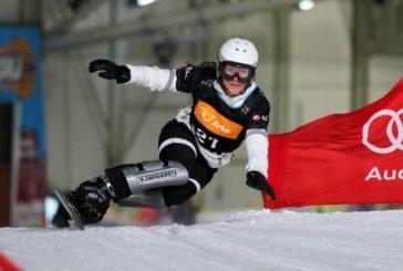 Закарпатська сноубордистка прославила Україну
