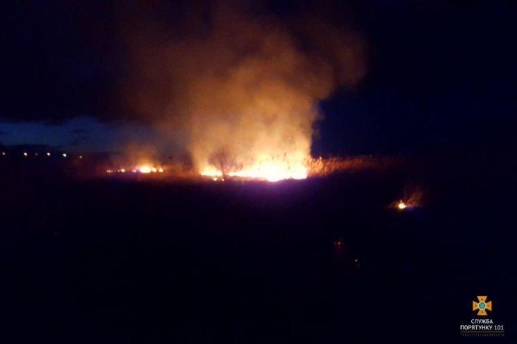 Поблизу Тернополя була велика пожежа (ФОТО)