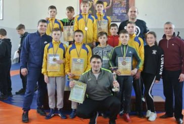 Семеро тернопільських борців повернулися з Рівного з медалями