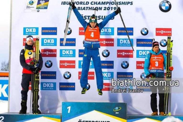 «Золото» Дмитра Підручного: Тернопільський спортсмен став першим в історії українським біатлоністом, який виграв Чемпіонат світу