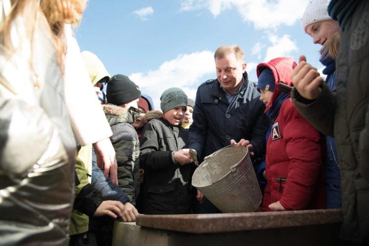 Голова Тернопільської ОДА Степан Барна: «У новій сучасній школі у Великій Березовиці зможуть навчатися 600 учнів»