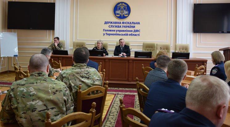 Податкових міліціонерів Тернопільщини нагородили за службу на Сході України (ФОТО)