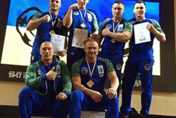 Тернопільські армрестлери завоювали сім медалей на чемпіонаті України з армспорту