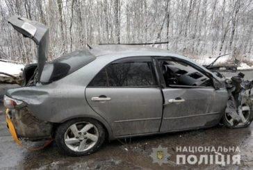 Жахлива аварія на Кременеччині: іномарка врізалася у вантажівку (ФОТО, ВІДЕО)